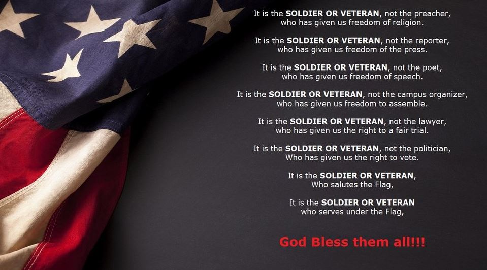 Awesome Veterans Day Quotes Thank You Sayings