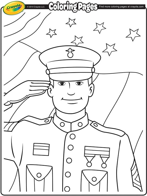 Veterans Day Pictures to Draw and Color