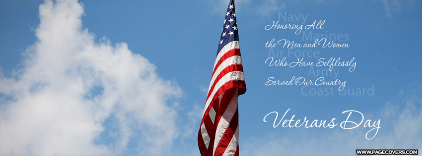 Veterans Day Pictures for Facebook Cover Image
