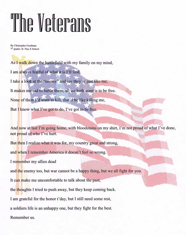 best veterans day poems thank you prayers for our heroes