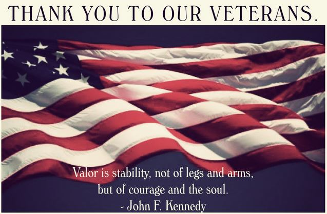 Veterans Day Thank You Quotes by John F. Kennedy - Happy ...