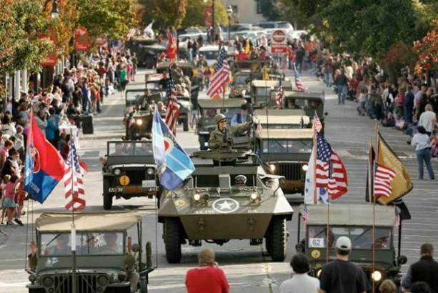 Petaluma Veterans Day Parade