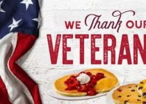 Veterans Day 2018 Free Meals - We Thank Our Veterans